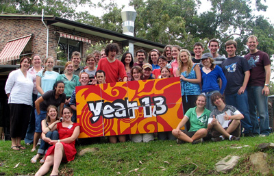 Year 13 2007 Kicks Off!